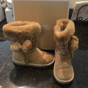 EUC Michael Kors girls boots